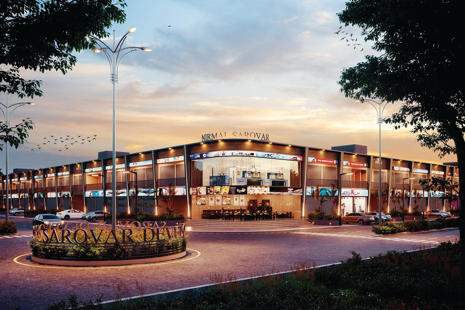 Nirmal Sarovar Commercial Hub